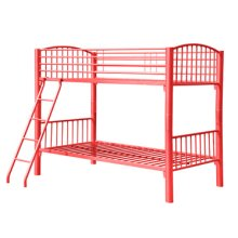 Twin Red Econo Bunk Bed