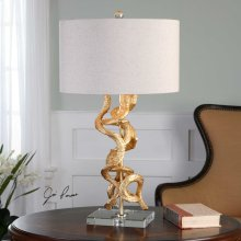 Twisted Vines Table Lamp