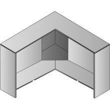 Corner Hutch, 42 X 15