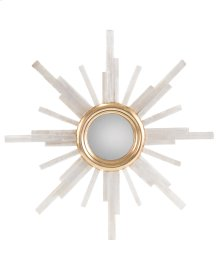 Selenite Star Mirror