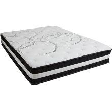 Capri Comfortable Sleep 12 Inch Foam and Pocket Spring Mattress, Queen in a Box