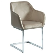 Modena Side Chair in Taupe, 2pk