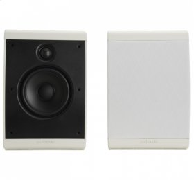 Compact multi-application speaker. in White