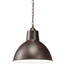 Missoula Collection 1 Light Pendant Lamp  Bronze