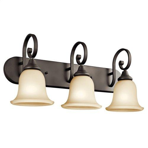 Monroe 3 Light Vanity Light with LED Bulbs Olde Bronze®
