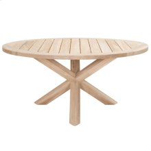 """Boca Outdoor 63"""" Round Dining Table"""