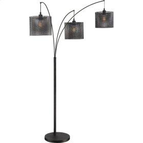 Quoizel Floor Lamp in Earth Black