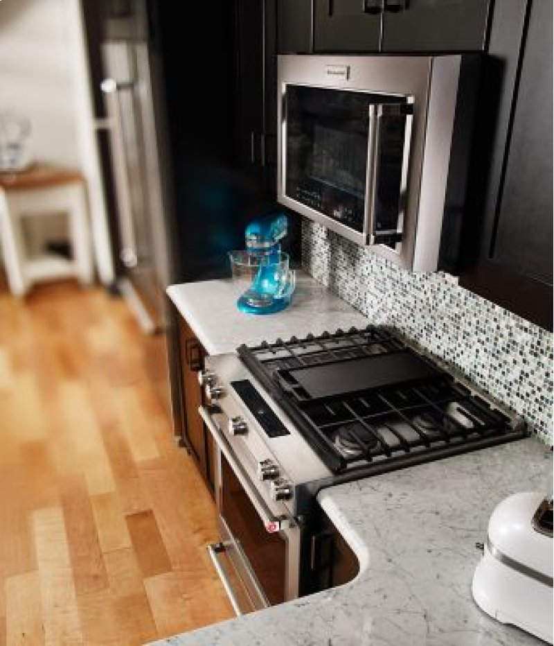 Additional 30 Inch 5 Burner Dual Fuel Convection Slide In Range With Baking Kitchenaid Logo