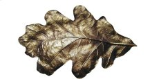 Oak Leaf - Antique Brass