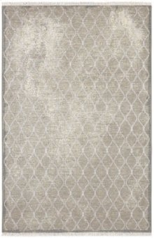 Swedish Isle by Patina Vie Platinum Rectangle 3ft 6in X 5ft 6in