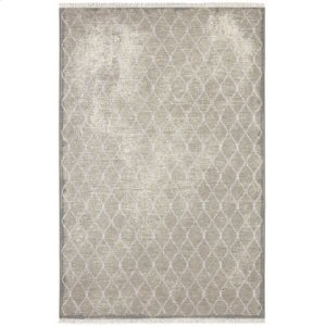 Swedish Isle by Patina Vie Platinum Rectangle 5ft 3in X 7ft 10in