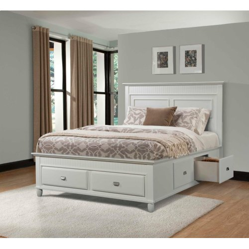 Spencer White Storage Bedroom