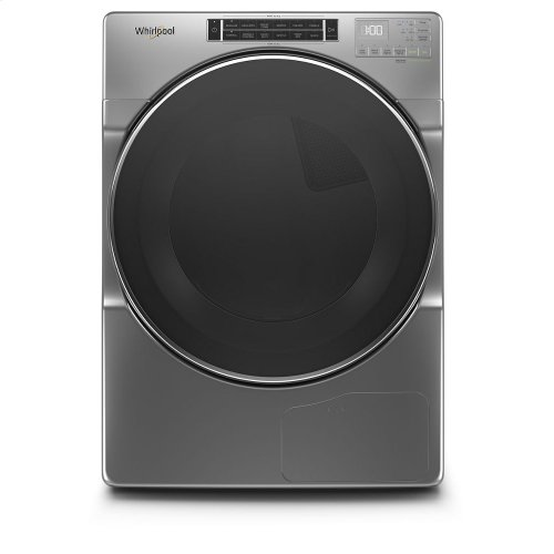 7.4 cu.ft Closet Depth Front Load Heat Pump Dryer with Intiutitive Touch Controls, Steam Refresh Cycle