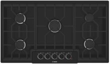 "36"" Gas Cooktop 500 Series - Black"