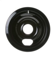 "ELECTRIC RANGE BURNER BOWL - 6"" BLACK PORCELAIN Product Image"
