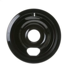 "ELECTRIC RANGE BURNER BOWL - 6"" BLACK PORCELAIN"