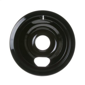 "GEELECTRIC RANGE BURNER BOWL - 6"" BLACK PORCELAIN"