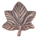 Vineyard Leaf Knob 2 Inch - Copper Product Image