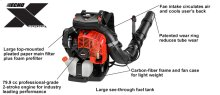The industry's most powerful backpack blower!