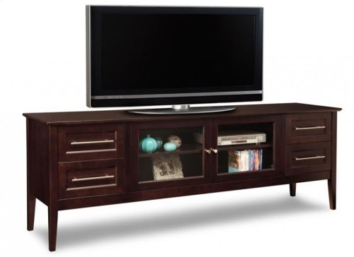 """Stockholm 84"""" HDTV Cabinet With Hutch"""