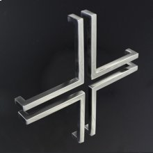 """L-shaped pull 5 3/8"""" x 5 3/8"""", cross-shaped arrangement requires 4 PIECES"""