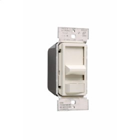 Wide Slide Series Dimmer, Light Almond