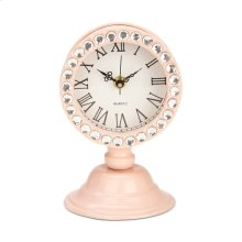 Irisa Pink Desk Clock