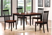 5-pc Solid Wood Table and Chairs