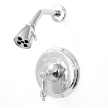 Pressure Balance Shower Set with Lexington Handle (available as trim only)