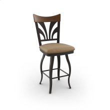 Peacock Swivel Stool