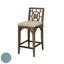 Teak Patio Barstool Cushion