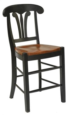 """St. Michael 24"""" Napolean Style Barstool"""