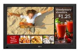 """47"""" class (46.9"""" measured diagonally) LG EzSign TV"""