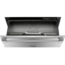 "Heritage 30"" Pro Warming Drawer, Silver Stainless Steel"