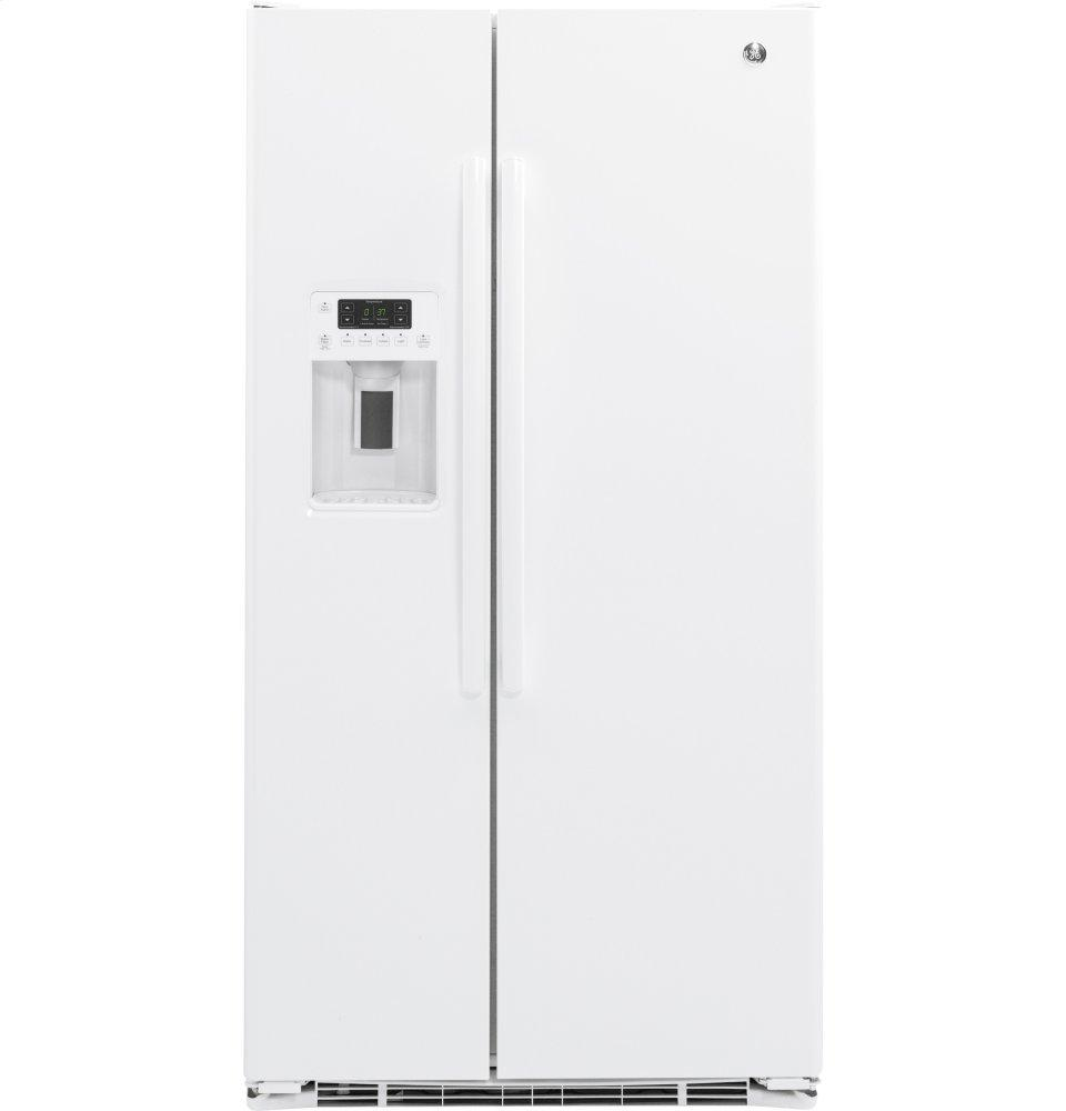 GE21.9 Cu. Ft. Counter-Depth Side-By-Side Refrigerator
