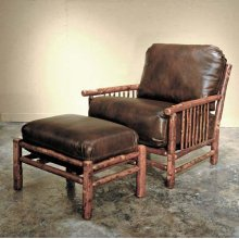 747 Craft Chair and 748 Craft Ottoman