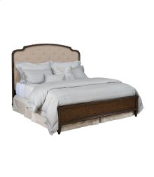 6/6 King Upholstered Panel Bed