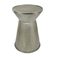 Metal Accent Table, Gold