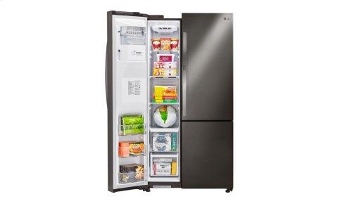 RED HOT BUY-BE HAPPY! 22 cu. ft. Smart wi-fi Enabled Door-in-Door® Counter-Depth Refrigerator