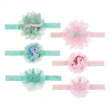 6 set ppk. Kids Unicorn Hair Ties Set/3