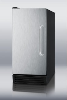 "15"" wide built-in undercounter NSF-listed icemaker with automatic defrost"