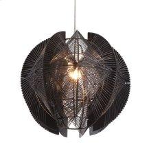 Centari Single Ceiling Lamp Black
