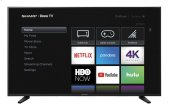 """60"""" Class (59.5"""" diag.) 4K Sharp Roku TV with HDR Product Image"""