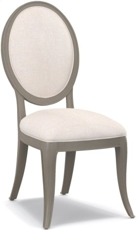 Darling Upholstered Oval Back Side Chair
