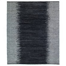 9'x12' Size Leather Woven Diamond Rug