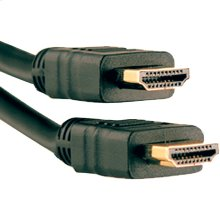 High-Speed HDMI® Cable with Ethernet, 3ft