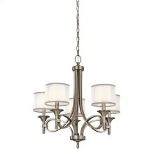 Lacey Collection Lacey 5 Light Chandelier - Antique Pewter