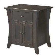Chandler 1 Drawer 2 Door Nightstand