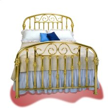 Halcyon Brass Bed - #112S