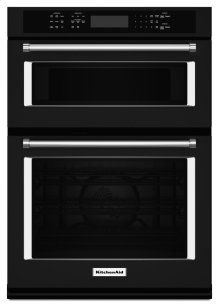 "27"" Combination Wall Oven with Even-Heat True Convection (lower oven) - Black"